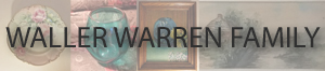 Waller Warren Family
